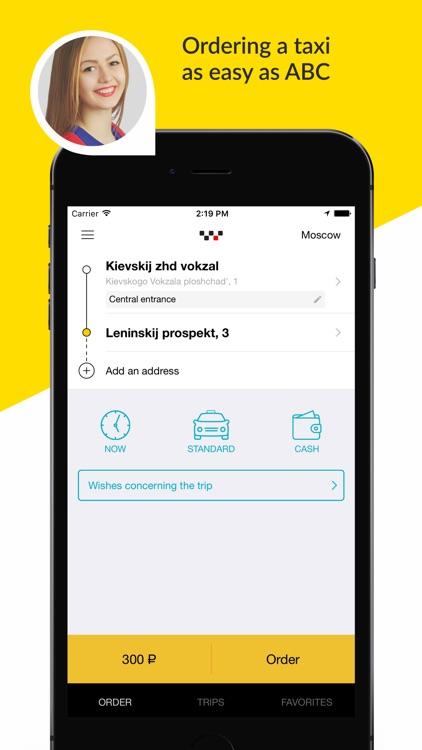 maxim - order a taxi screenshot-0