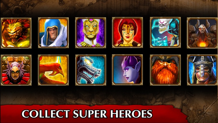Legendary Heroes offline MOBA screenshot-1