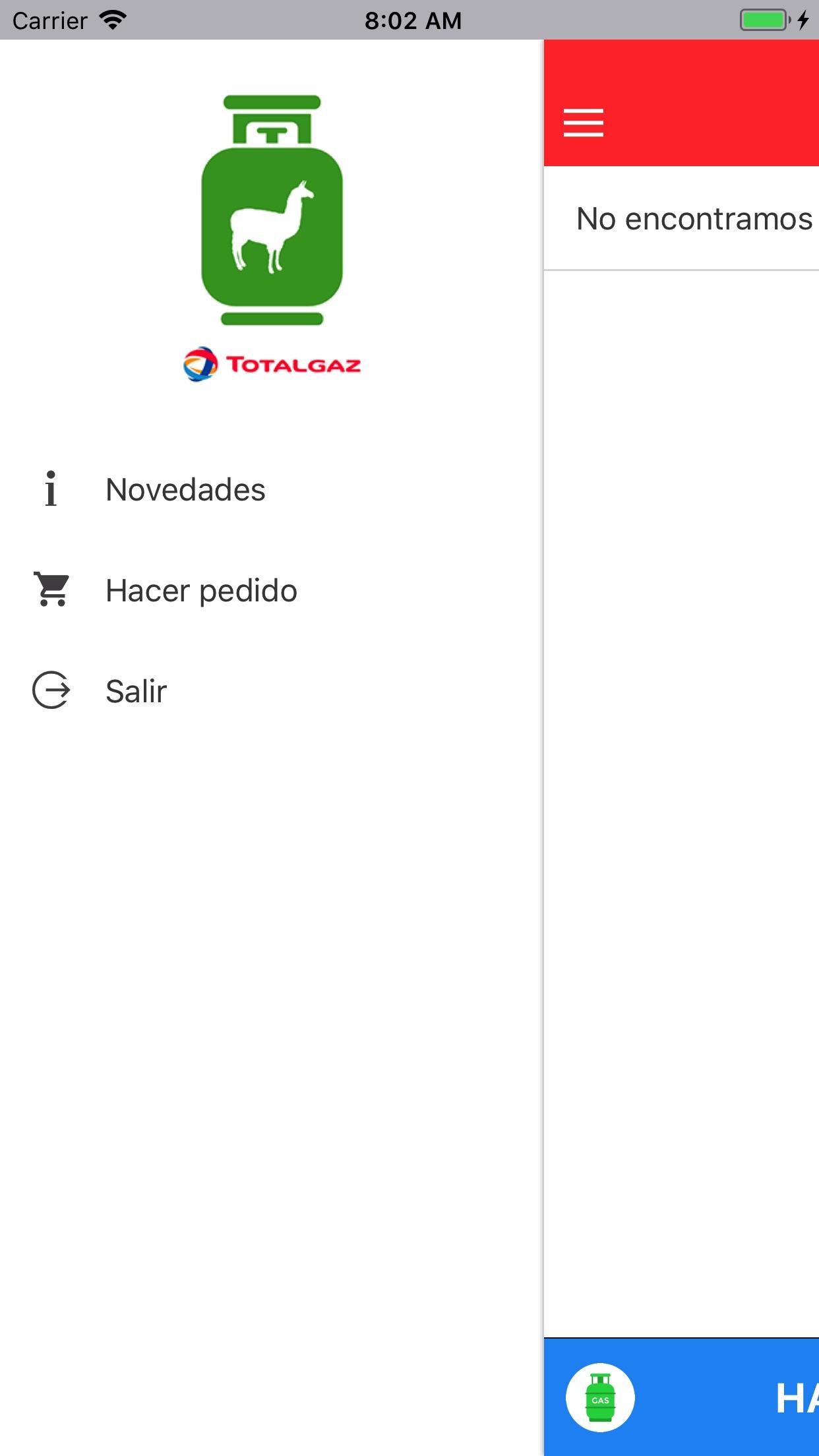 Llamagaz Online Screenshot