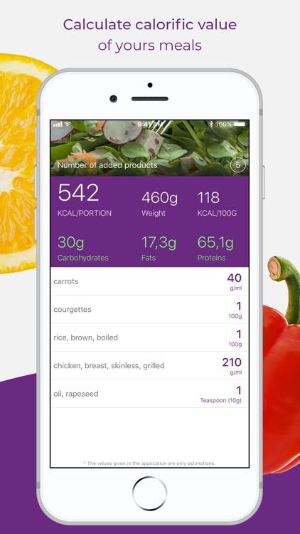 Calorie Counter - Meal Planner screenshot-3