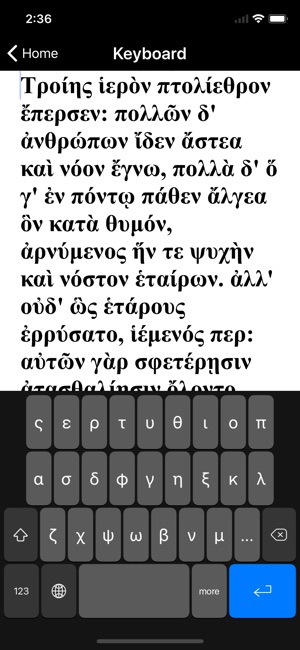 AGK Ancient Greek Keyboard on the App Store