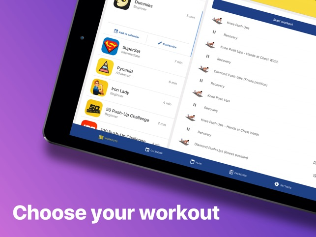 Chest workout plan on the App Store