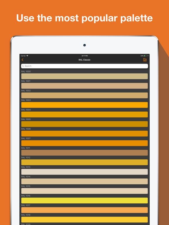 RAL colour chart. Ncs fan deck Screenshots