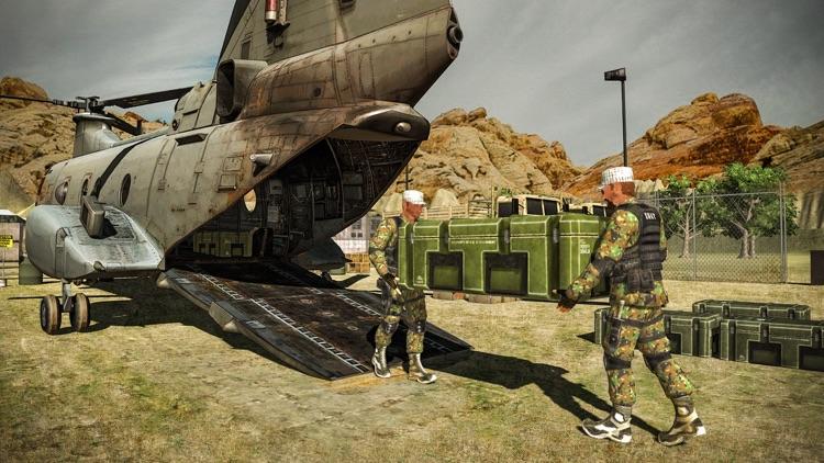 Offroad Army Truck – Cargo Ship & Flight Simulator screenshot-3