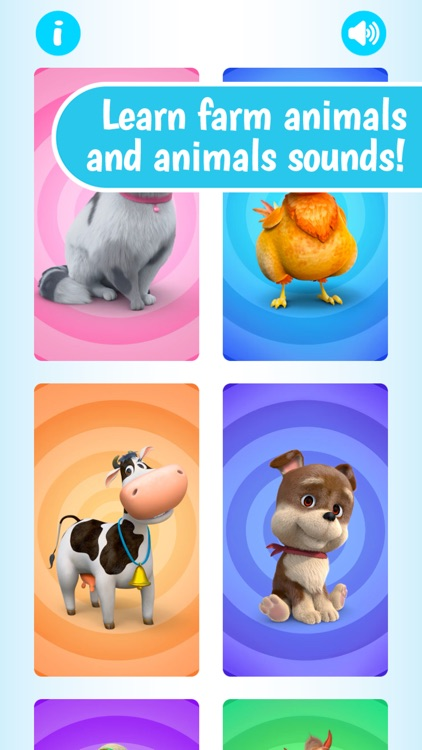 Farm Animals by Dave and Ava screenshot-0