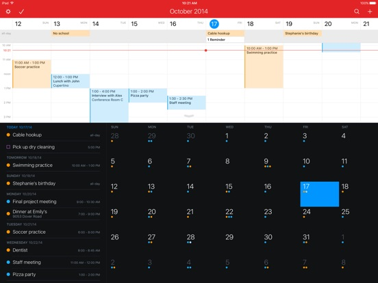 Fantastical 2 for iPad Screenshot