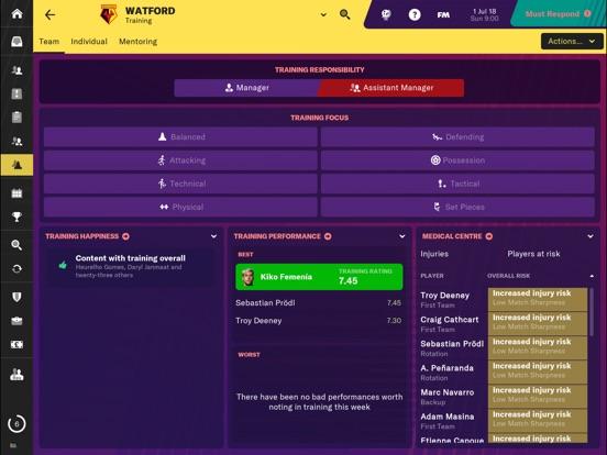 Football Manager 2019 Touch screenshot 6