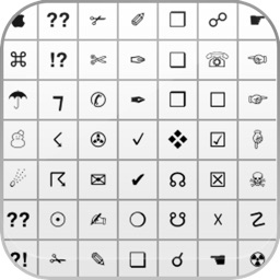 Symbol keyboard - Adds symbols, Emoji and ascii keyboard