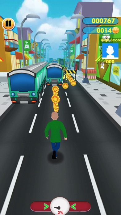 #1 Subway baltis Education Run screenshot 4