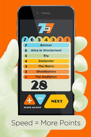 Screenshot of 7 in 7: Pop Culture Party Game