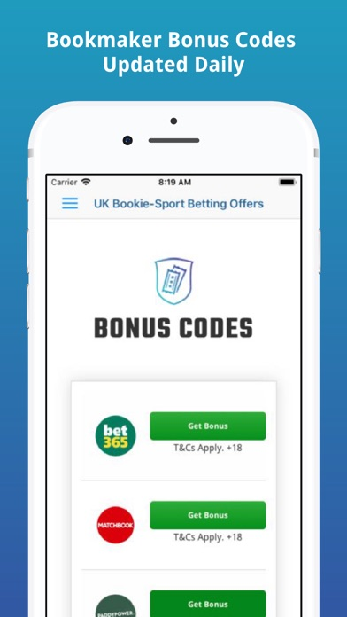 UK Bookie-Sport Betting Offers screenshot two