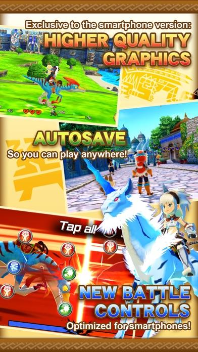 Screenshot from Monster Hunter Stories