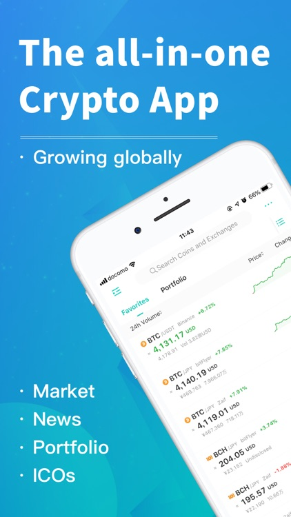 CoinView: Bitcoin Altcoin App screenshot-0