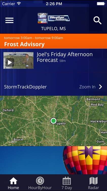 WTVA Weather screenshot-0