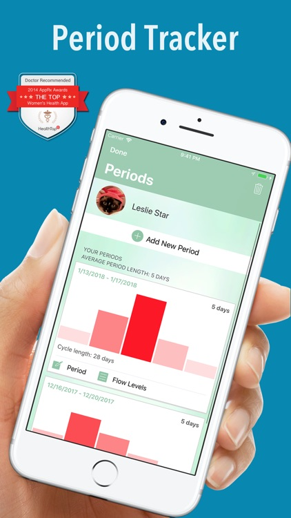 Period Plus Ovulation Tracker screenshot-0