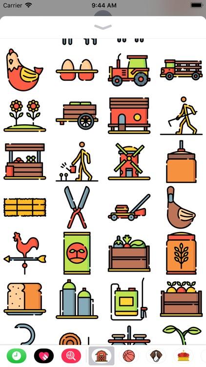 Farming Stickers