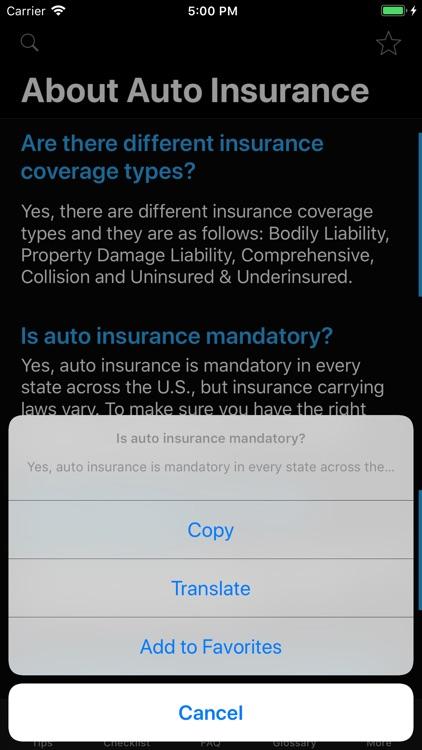 Car Insurance App screenshot-8