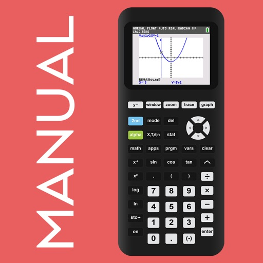 TI-84 CE Calculator Manual app logo