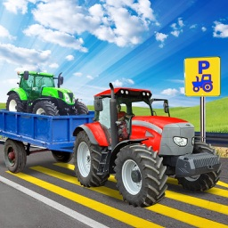 Real Tractor Parking 3D