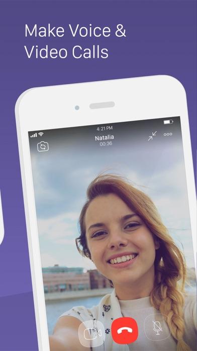 Viber Messenger – Text & Call Screenshots
