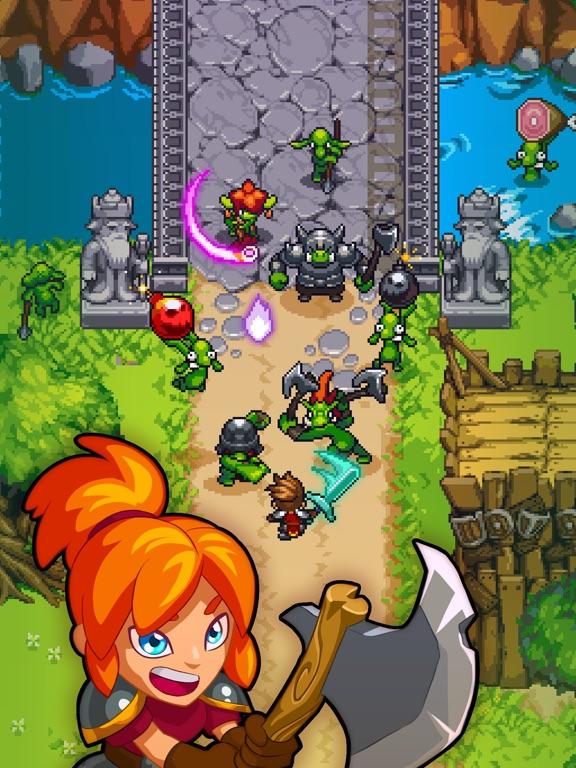 Dash Quest Heroes на iPad