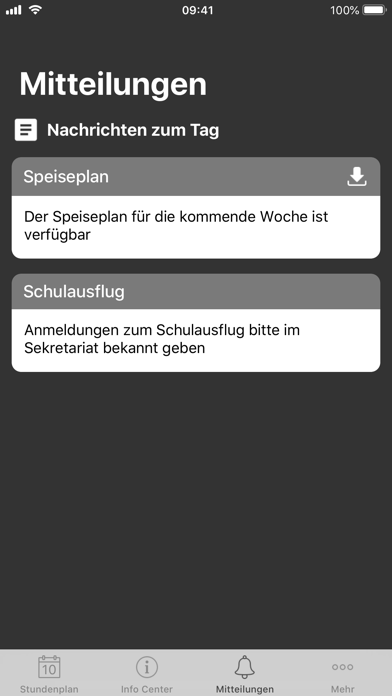 Screenshot for Untis Mobile in Germany App Store
