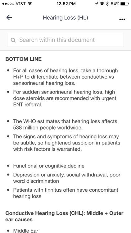 UCSF Outpatient Medicine Handbook screenshot-3