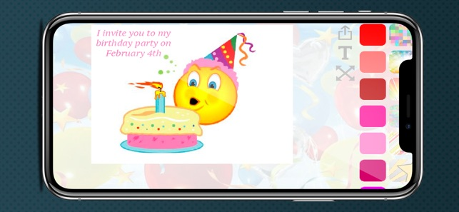 Create Birthday Invitation 4