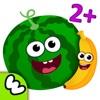 趣味食物!婴儿童游戏小宝宝拼图益智幼儿园教育3-5岁