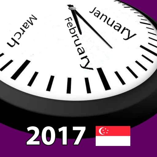 2017 Singapore Holiday Calendar AdFree