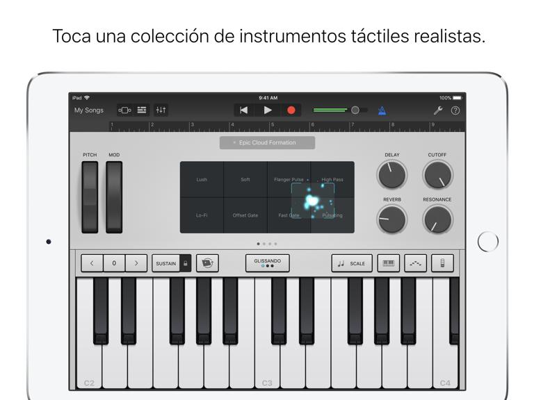 iPad Captura de pantalla 3