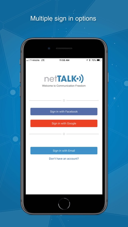 Mobile VoIP by netTALK