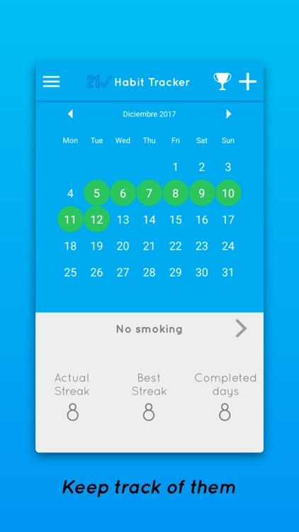 21 Days - Habit Tracker