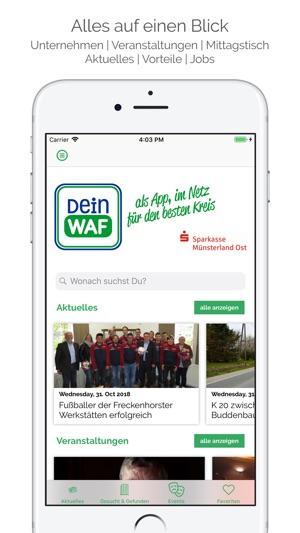 Dein WAF im App Store