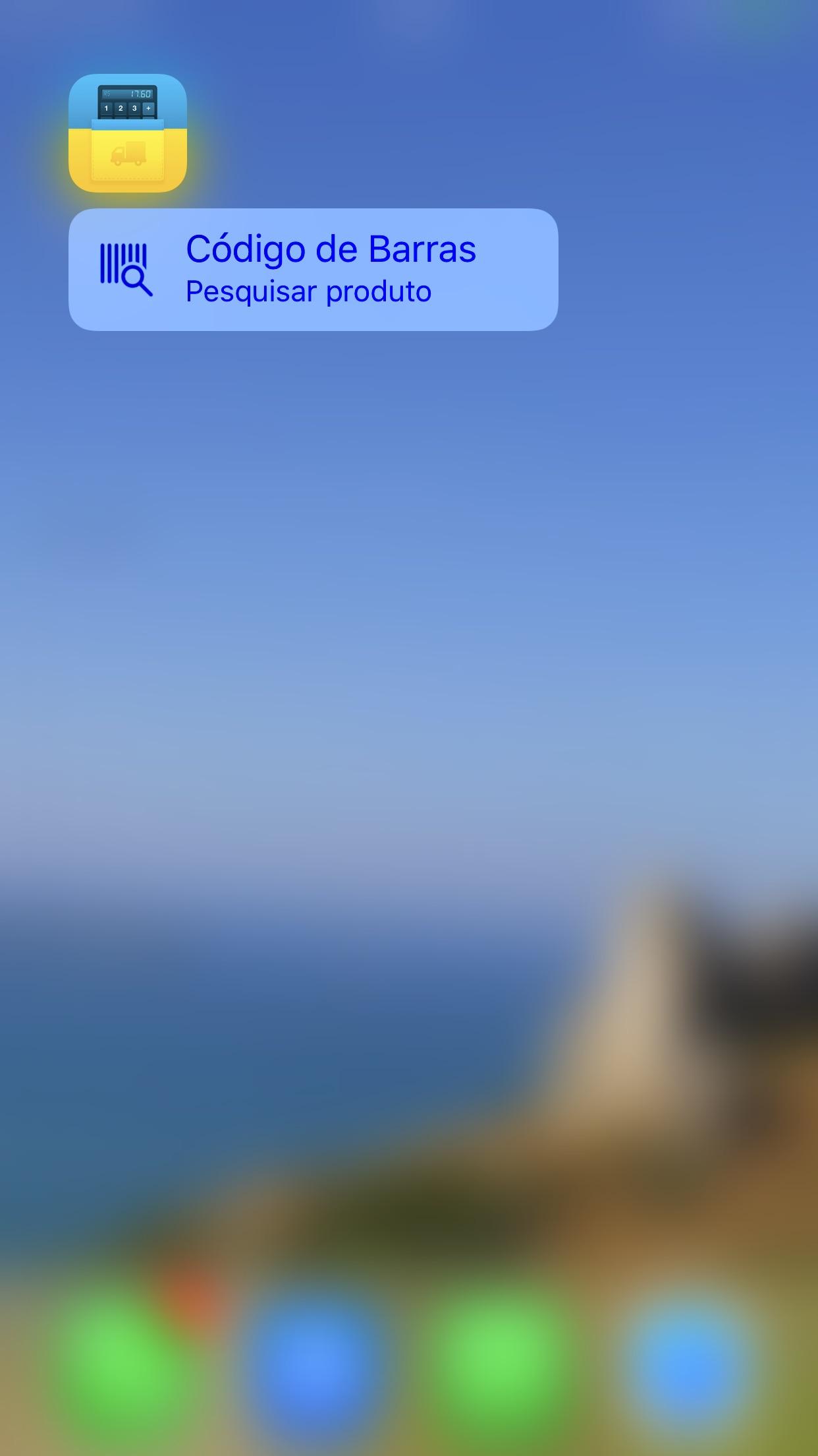 Screenshot do app iCalculaFrete