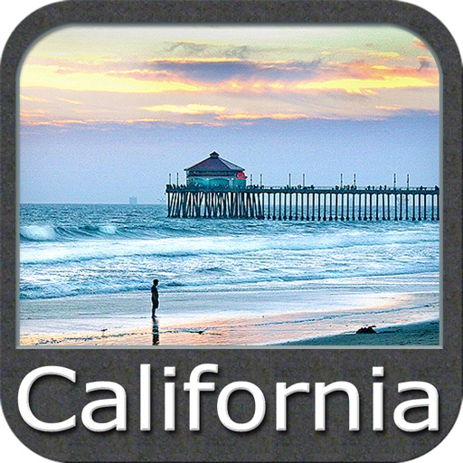 California - GPS Map Navigator