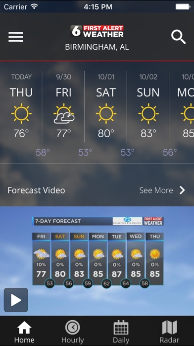 download WBRC First Alert Weather apps 4