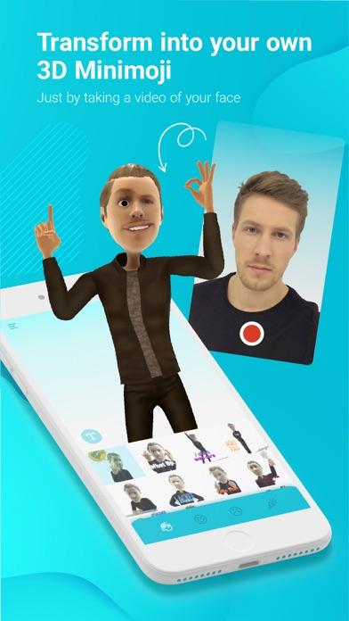 Minimoji: 3d avatar creator by Minimoji, Inc  (iOS, United