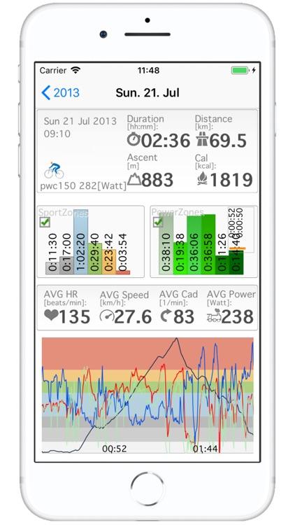 SportZones6 - PolarFlow Garmin screenshot-6