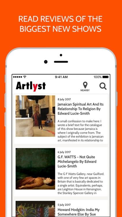 Artlyst screenshot-3