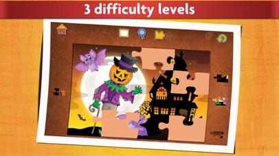 Halloween Kids Jigsaw Puzzles screenshot four