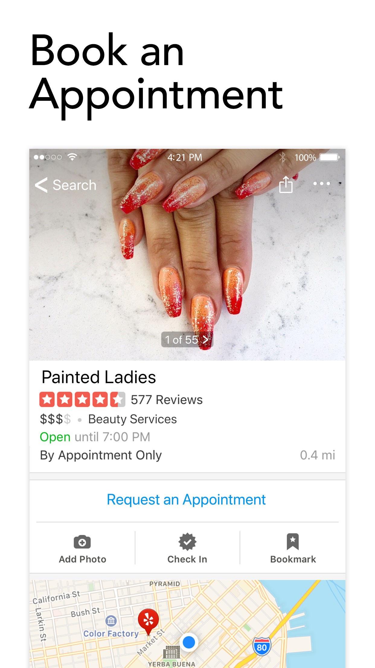 Yelp: Discover Local Favorites Screenshot
