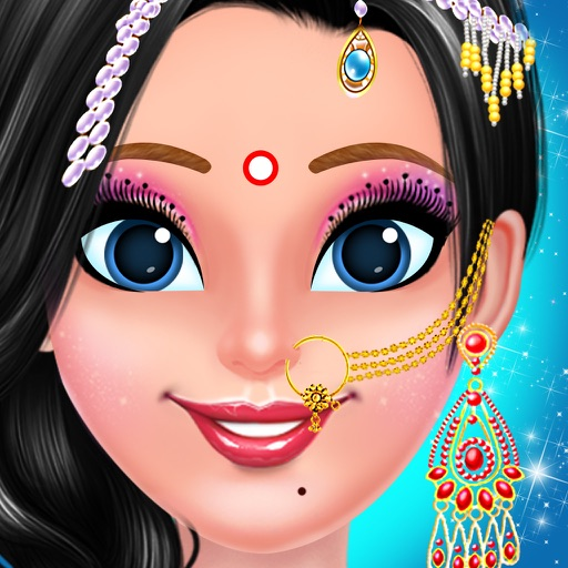 """indian bridal makeup and dressup for girls. """""""