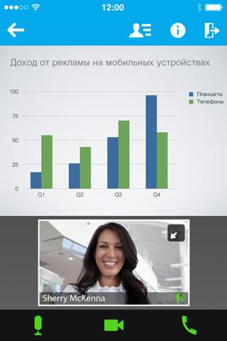 Скриншот из Cisco Webex Meetings