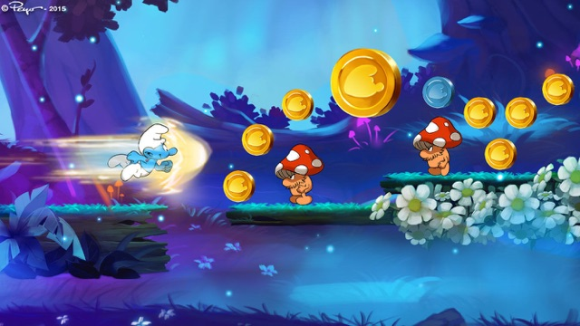 Smurfs Epic Run Screenshot