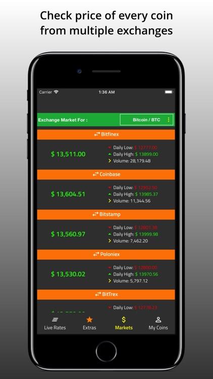 CoinWatch Crypto Portfolio screenshot-3