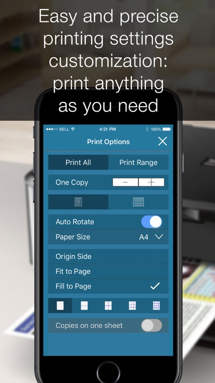 Printer App - print photos screenshot-3