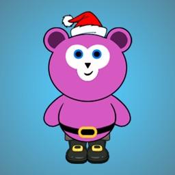 Cute Santa Bear