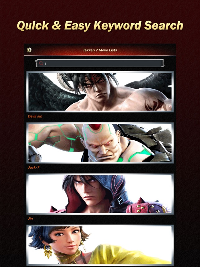 Move Lists for Tekken 7 on the App Store
