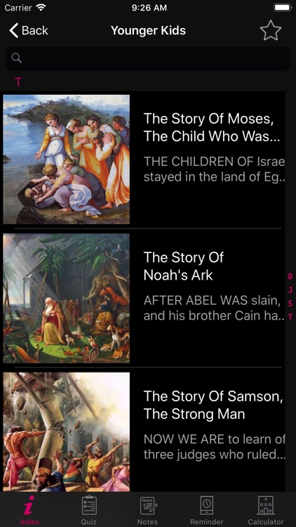 Bible Story -All Bible Stories screenshot-3